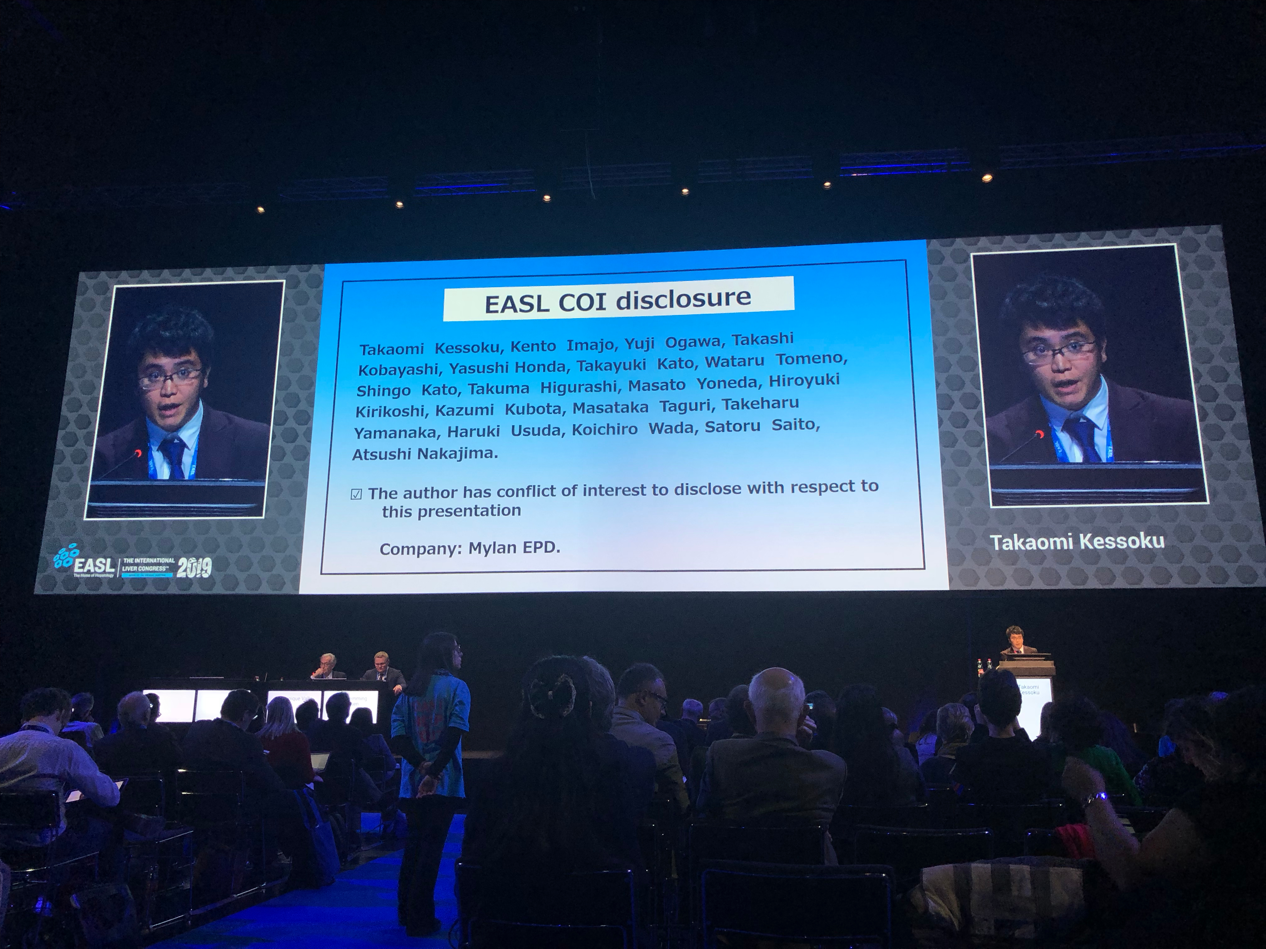 EASL(欧州肝臓学会) International Liver Congress 2019